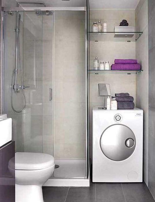 идея современного дизайна ванной 2017