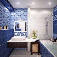 идея современного интерьера ванной 6 кв.м фото
