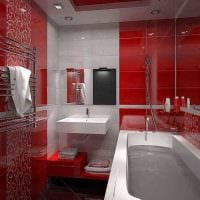 вариант современного стиля ванной 3 кв.м фото