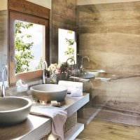 вариант современного интерьера ванной комнаты 4 кв.м фото