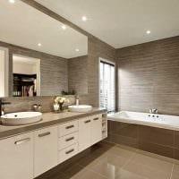 идея современного интерьера ванной комнаты 2.5 кв.м картинка
