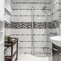 идея современного интерьера ванной комнаты 2017 фото