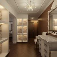 вариант светлого декора комнаты в стиле современная классика фото