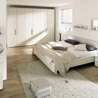 вариант красивого декора комнаты в светлых тонах в современном стиле картинка