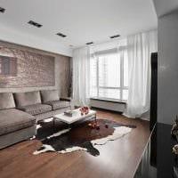идея необычного декора квартиры 70 кв.м фото