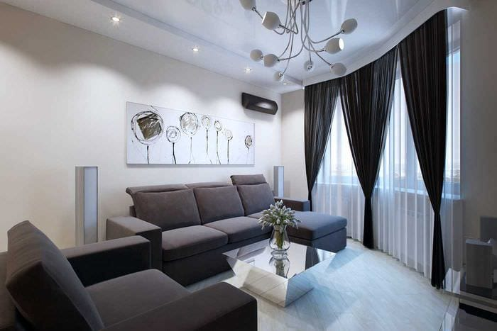 Дизайн 3 комнатной квартиры 70 квм классика