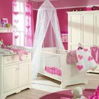 идея необычного стиля детской комнаты для девочки фото