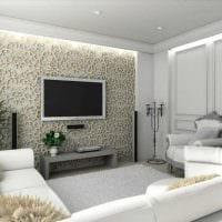 пример необычного дизайна гостиной комнаты 19-20 кв.м картинка