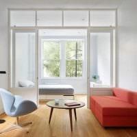 вариант необычного стиля гостиной комнаты 2018 картинка