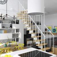 вариант красивого интерьера квартиры 70 кв.м картинка