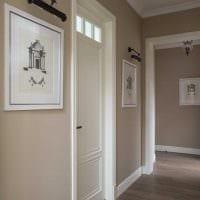 вариант необычного интерьера комнаты в стиле современная классика фото