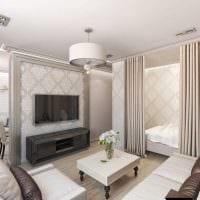идея красивого стиля комнаты в стиле современная классика картинка