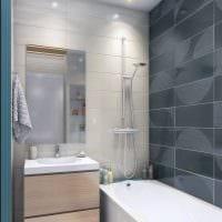 вариант необычного стиля ванной 5 кв.м картинка