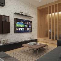 пример яркого дизайна квартиры 50 кв.м картинка