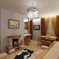идея яркого декора квартиры 70 кв.м фото