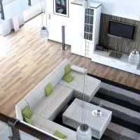 вариант красивого дизайна дома со вторым светом фото
