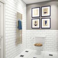вариант светлого декора квартиры в стиле современная классика фото