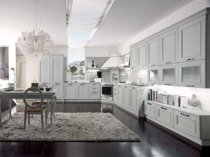 идея яркого стиля комнаты в стиле современная классика