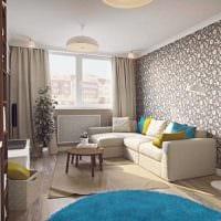 пример яркого декора квартиры 50 кв.м картинка