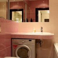 идея современного интерьера ванной 3 кв.м картинка