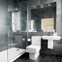 идея красивого стиля ванной 2017 картинка