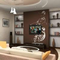 дизайн гостиной 18 квадратных метров дома