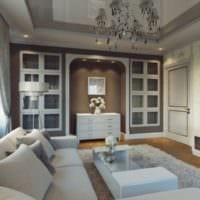 дизайн гостиной 18 квадратных метров в светлых тонах