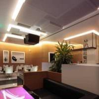 вариант применения красивого дизайна комнаты в стиле ретро фото