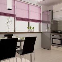 идея использования розового цвета в красивом дизайне квартире картинка