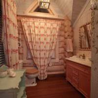 вариант применения русского стиля в красивом дизайне комнате картинка