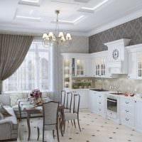 идея использования необычного стиля кухни картинка