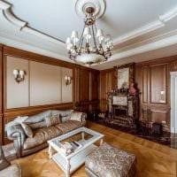 идея применения светового дизайна в красивом интерьере дома фото