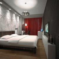 идея использования светового дизайна в красивом декоре дома фото