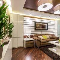 идея необычного дизайна спальни гостиной 20 кв.м. картинка