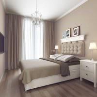 вариант необычного декора гостиной спальни фото