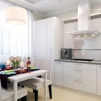идея красивого стиля кухни 8 кв.м картинка