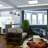 идея светлого дизайна квартиры фото