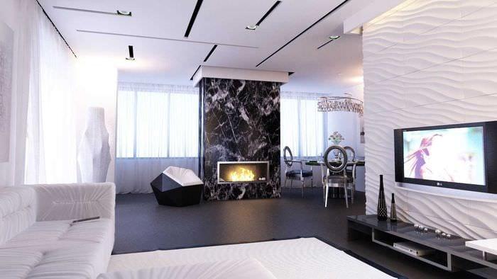 пример красивого интерьера двухкомнатной квартиры
