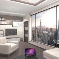 идея красивого декора двухкомнатной квартиры картинка