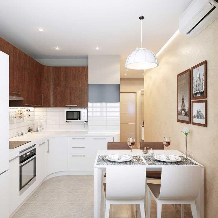 кухня фото дизайн 8 кв.м.