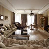 идея красивого дизайна квартиры в романском стиле фото