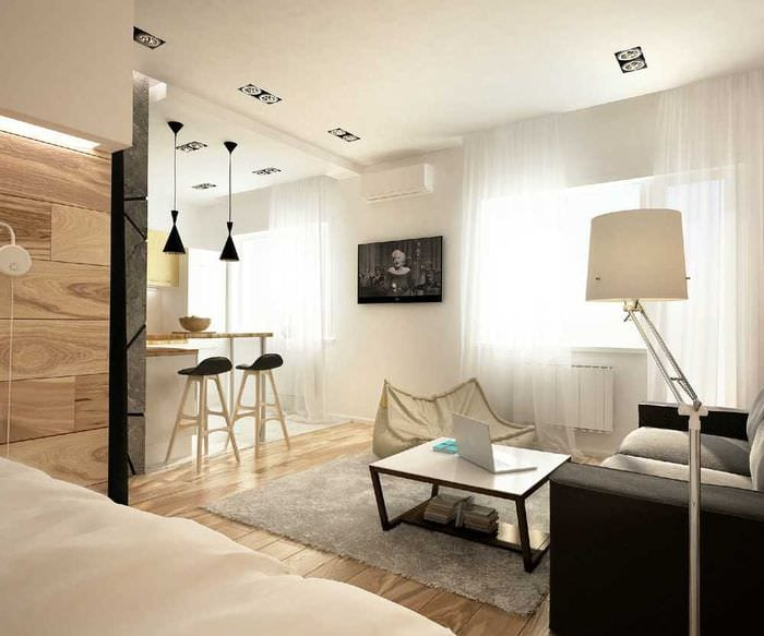 идея яркого декора квартиры