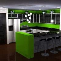 идея необычного сочетания цвета в декоре современной квартиры картинка