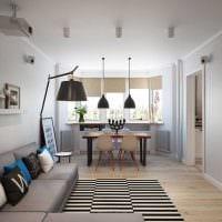 вариант красивого стиля комнаты в скандинавском стиле фото