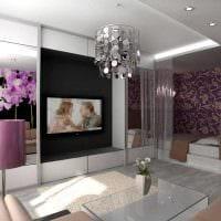 вариант красивого стиля небольшой комнаты в общежитии фото