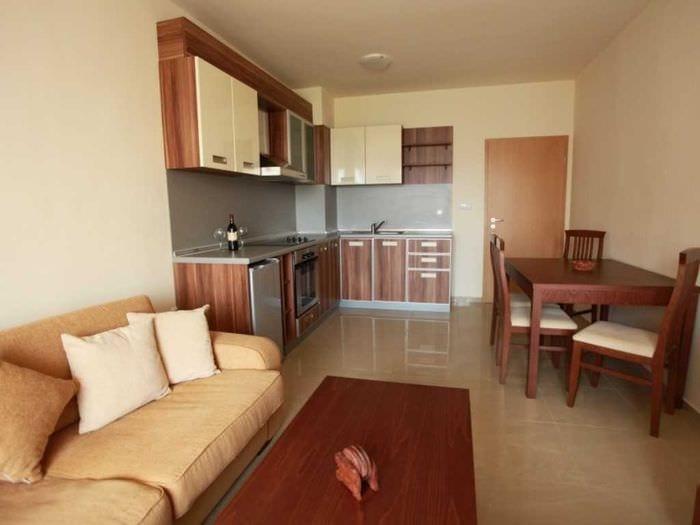 идея необычного интерьера маленькой комнаты в общежитии
