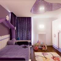 вариант красивого стиля детской комнаты для девочки 12 кв.м фото