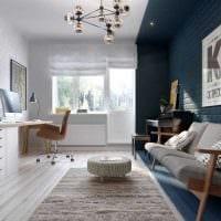 идея необычного интерьера квартиры в скандинавском стиле картинка