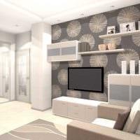 пример красивого интерьера двухкомнатной квартиры картинка
