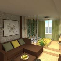 идея яркого интерьера небольшой комнаты в общежитии картинка